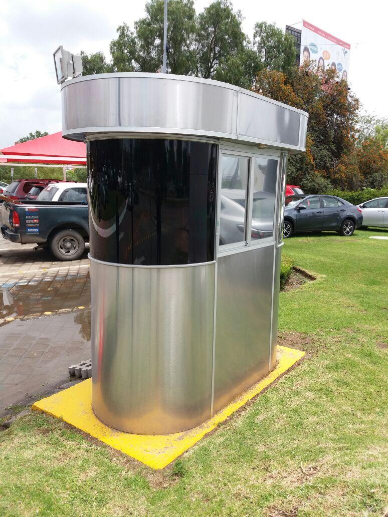 Casetas metalicas para estacionamientos o vigilancia for Casetas metalicas